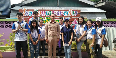 Sharing happiness for children at Baan Ko Maphrao School